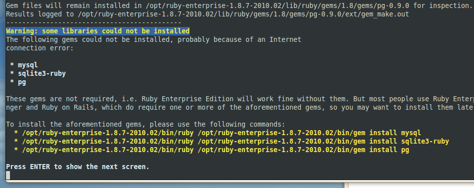 Updating ruby on rails