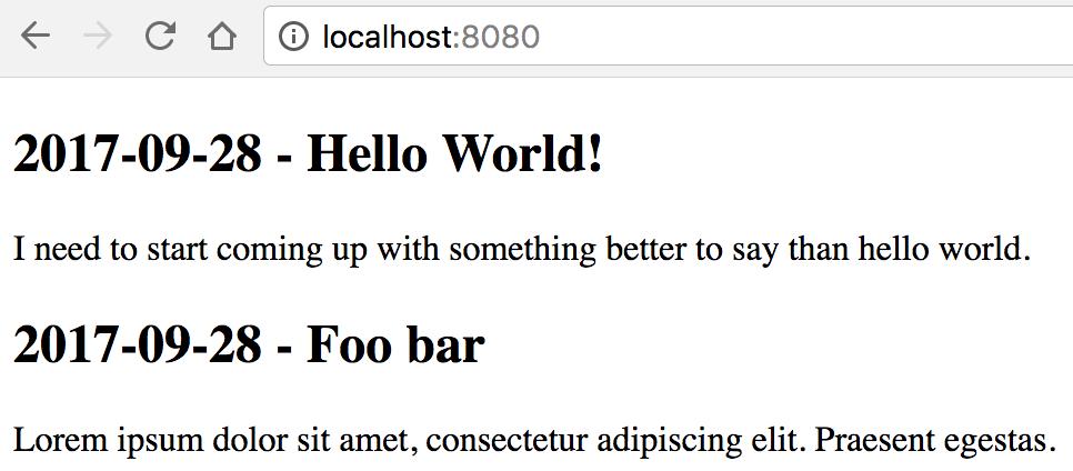 Golang HTML Template Partials